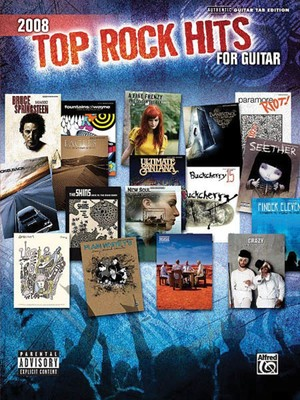 2008 Top Rock Hits for Guitar