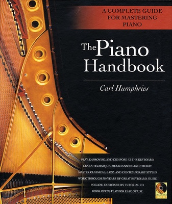 Cheap music books piano handbook hardback spiral bkcd fandeluxe Image collections