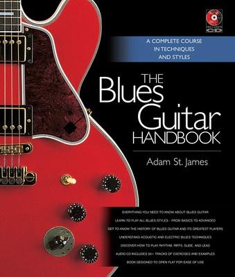 23e9d8e7f653f BLUES GUITAR HANDBOOK BK CD