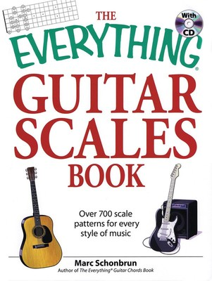 EVERYTHING GUITAR SCALES BOOK BK/CD