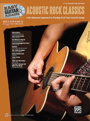 EASY GUITAR PLAY ALONG ACOUSTIC CLASSICS BK/CD