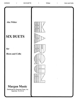6 Duets for Horn and Cello