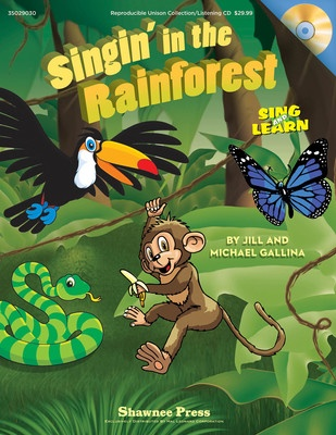 SINGIN IN THE RAINFOREST REPRODUCIBLE BK/CD GR 1