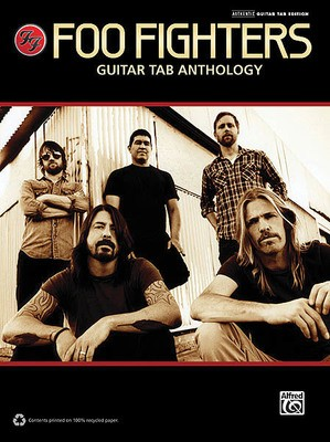 FOO FIGHTERS GUITAR TAB ANTHOLOGY