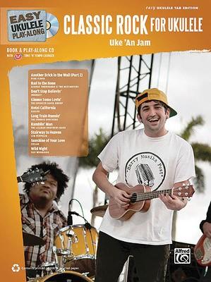 EASY UKULELE PLAY ALONG CLASSIC ROCK BK/CD