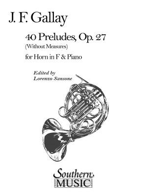 40 Preludes Op. 27