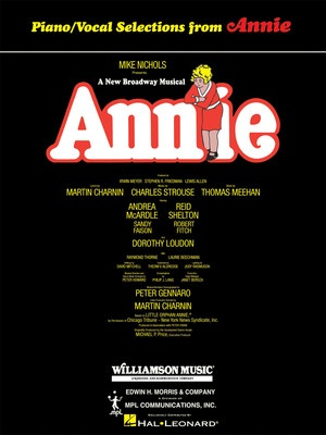 Cheap music books annie vocal selections fandeluxe Images