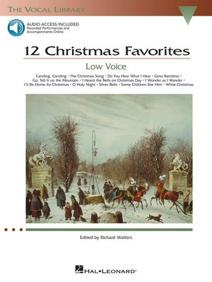 12 CHRISTMAS FAVORITES BK/OLA LOW VOICE