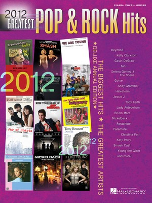 2012 GREATEST POP & ROCK HITS PVG