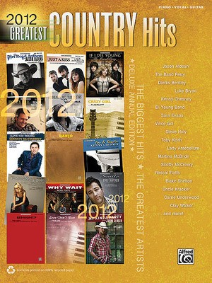 2012 GREATEST COUNTRY HITS PVG