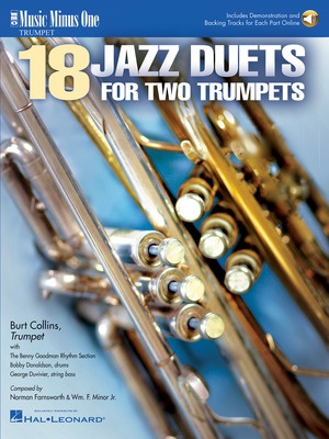 18 JAZZ DUETS FOR 2 TRUMPETS BK/CD