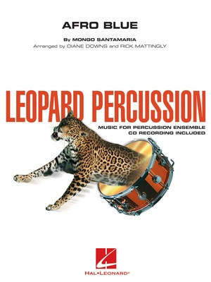 AFRO BLUE LEOPARD PERCUSSION  POD