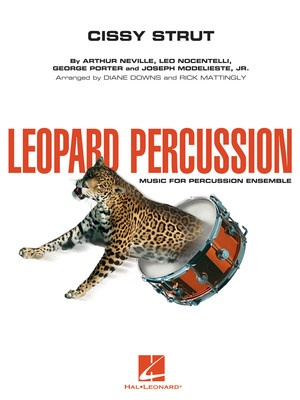 CISSY STRUT LEOPARD PERCUSSION ENSEMBLE LEOPERC3