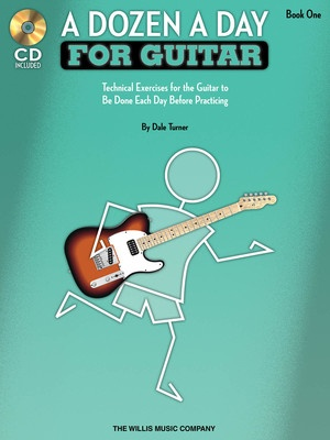 A DOZEN A DAY FOR GUITAR BK 1