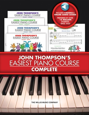 Cheap music books easiest piano course complete bks 1 4 us edition fandeluxe Image collections