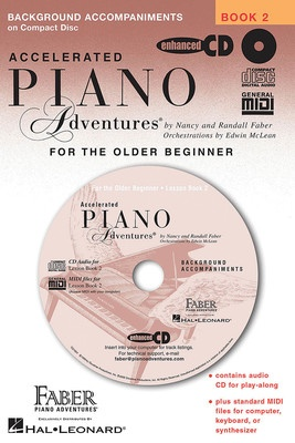 ACCELERATED PIANO ADVENTURES BK 2 LESSON CD | Cheap Music Books