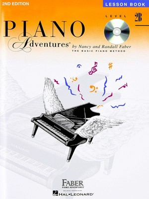 Piano Adventures Level 2B- Lesson Book