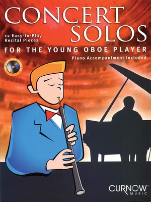 CONCERT SOLOS FOR THE YOUNG OBOE BK/CD