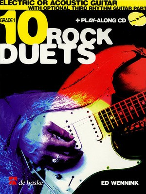 10 ROCK DUETS & PLAYALONG CD BK/CD