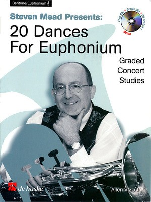 20 DANCES FOR EUPHONIUM TC BK/CD