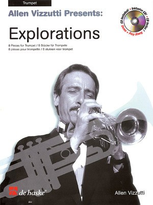 ALLEN VIZZUTTI EXPLORATIONS TRUMPET BK/CD