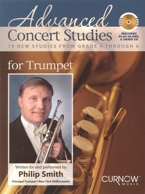 ADVANCED CONCERT STUDIES TRUMPET BK/CD