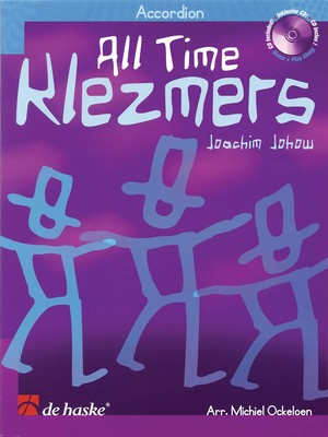 ALL TIME KLEZMERS FOR ACCORDION BK/CD