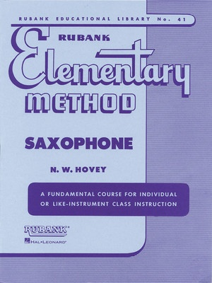 ELEMENTARY METHOD SAX