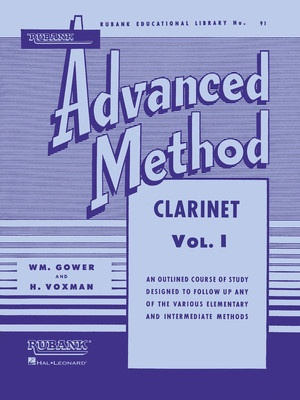 ADVANCED METHOD CLARINET BK 1