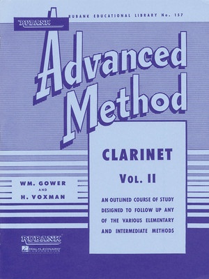 ADVANCED METHOD CLARINET BK 2