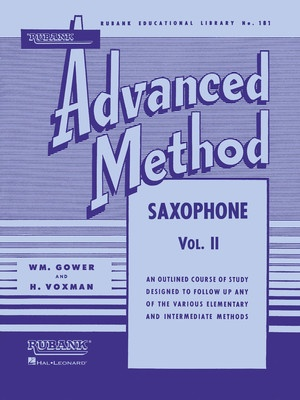 ADVANCED METHOD SAXOPHONE BK 2