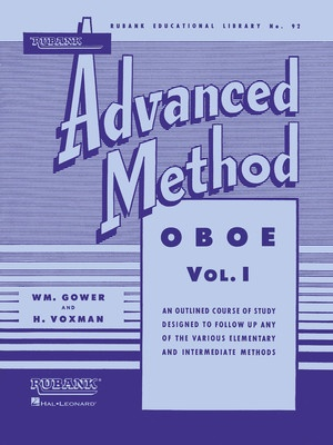 ADVANCED METHOD OBOE BK 1