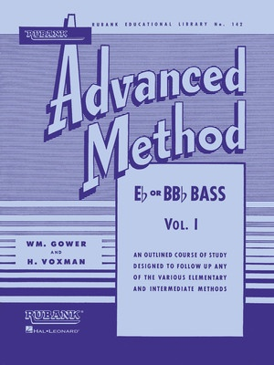ADVANCED METHOD E FLAT/BB FLAT BASS/TUBA BK 1