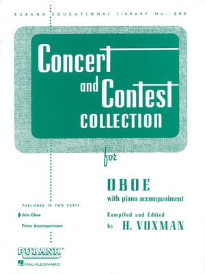 CONCERT AND CONTEST PNO ACCOMP OBOE