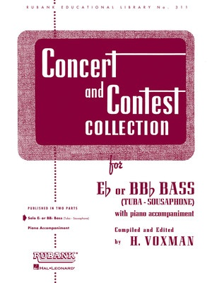 CONCERT AND CONTEST TUBA PNO ACCOMP