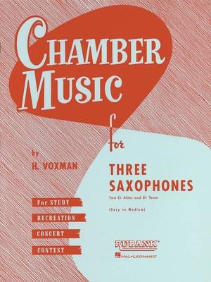 CHAMBER MUSIC 3 SAX