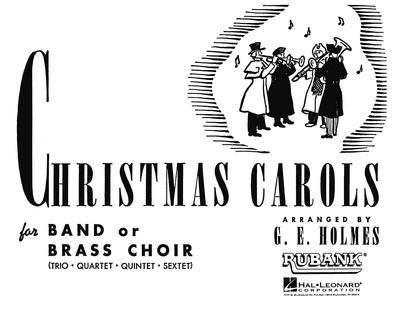 CHRISTMAS CAROLS FOR BAND BASSES 4TH PT