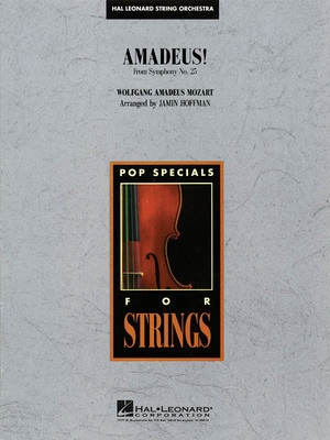 AMADEUS  THEME SYMPH NO 25  SO3 4 SC/PTS