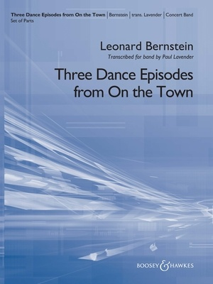 3 DANCE EPISODES FROM ON THE TOWN CB5 SC/PTS