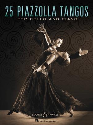25 PIAZZOLLA TANGOS FOR CELLO/PIANO