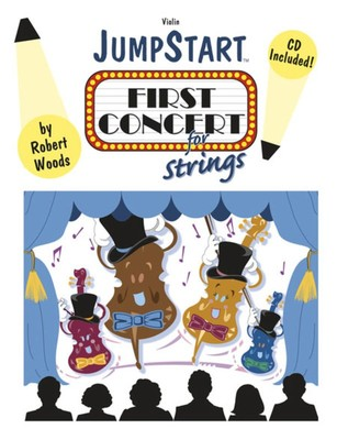Jumpstart First Concert For Strings Violin