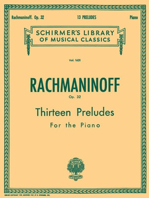 13 Preludes, Op. 32