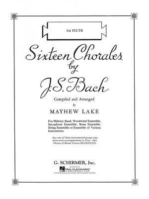 Sixteen Chorales - Violin 1 Part 1st Position