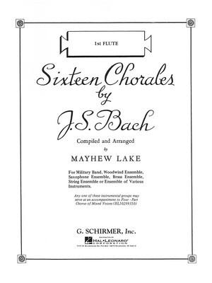 Sixteen Chorales - Violin 1 Part Advanced