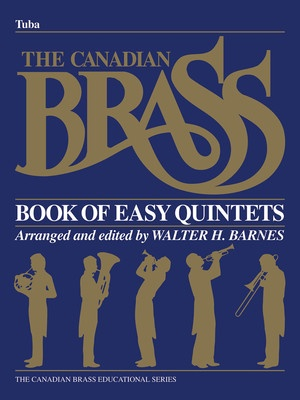 CANADIAN BRASS EASY QUINTETS TUBA