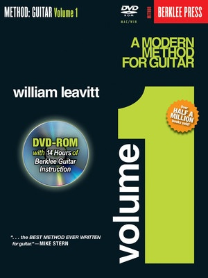 MODERN METHOD GUITAR BK 1 BK/DVD ROM