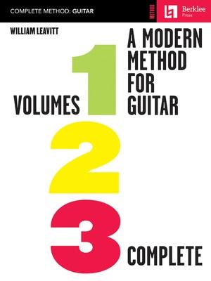 MODERN METHOD FOR GUITAR VOL 1/2/3   COMPLETE