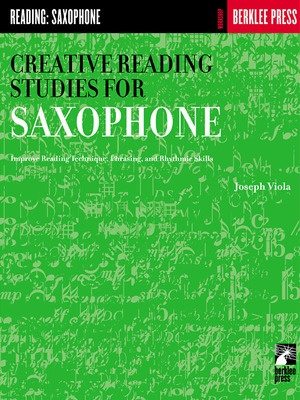 CREATIVE READING STUDIES FOR SAX