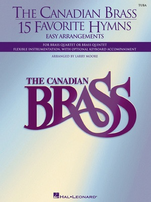 CANADIAN BRASS 15 FAVORITE HYMNS TUBA