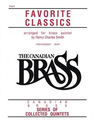 CANADIAN BRASS FAVORITE CLASSICS HORN